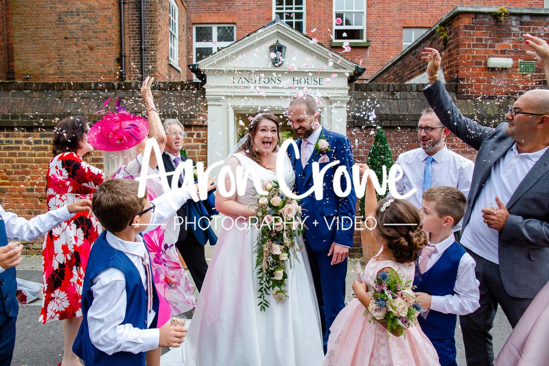 langtons house wedding photographer