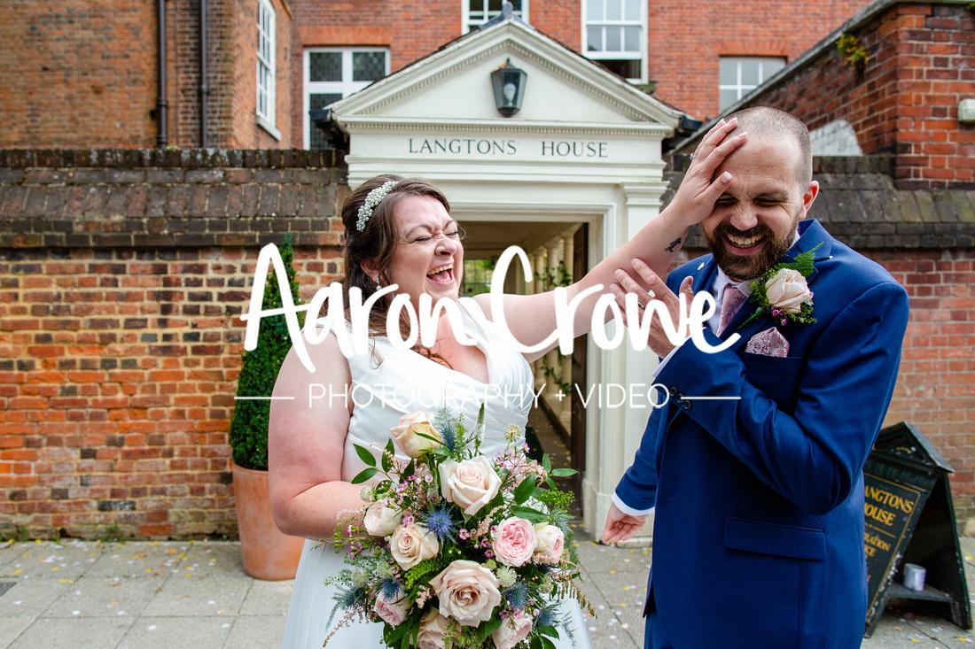 langtons house wedding